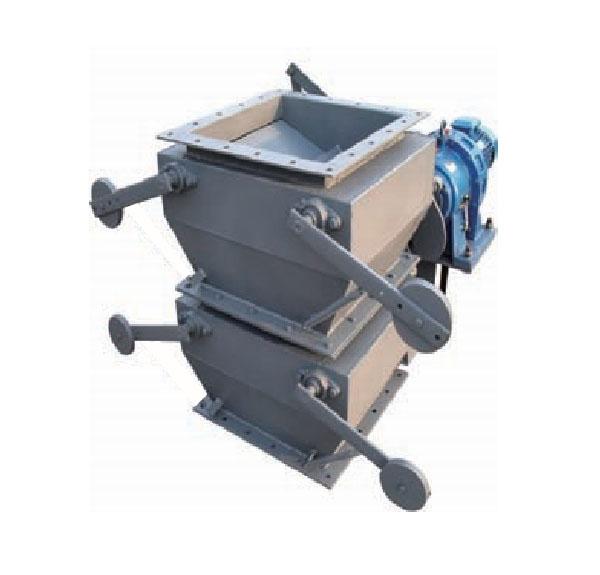 电动重锤双层翻板卸灰阀
