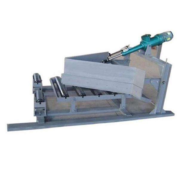 电液动可变槽角犁式卸料器
