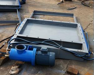 电液动平板闸门